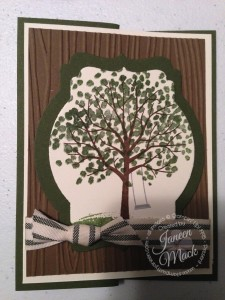 tree card front